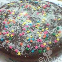 Bài dự thi: Làm bánh chocolate không cần lò nướng