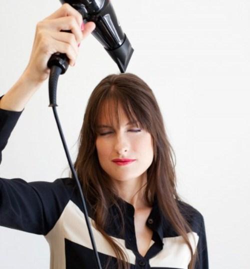Mẹo giữ nếp tóc mái bằng lâu bền - 1