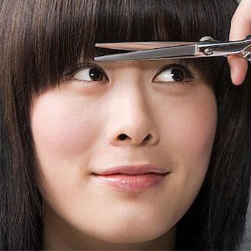 Mẹo giữ nếp tóc mái bằng lâu bền - 8
