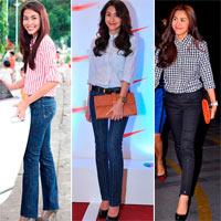Tăng Thanh Hà - chỉ jeans, sơ mi cũng đẹp!