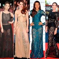 Váy xuyên thấu: Sao quốc tế đánh bại Hồng Quế