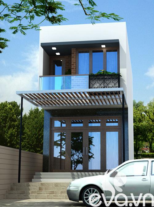 Tư vấn xây nhà đẹp 45m2 ở phố huyện - 4