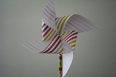 Làm chong chóng giấy cho gió vờn yêu - 5