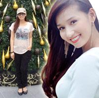 Lã Thanh Huyền bầu 6 tháng vẫn thon gọn