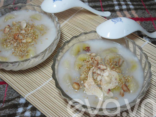 Nóng hổi chè chuối nước cốt dừa - 8