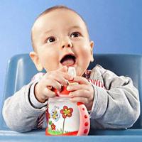 Nước cháo pha sữa tăng lực cho bé?