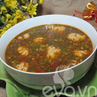 Bài dự thi: Canh ngán nấu chua