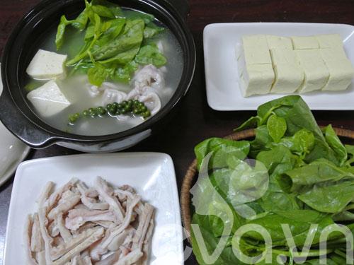 Mê mẩn dạ dày hầm tiêu xanh - 7