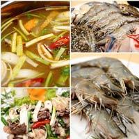 Giá thực phẩm tại chợ Long Biên 28-2