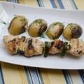 Bếp Eva - Thịt gà nướng xiên ngon cơm