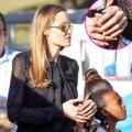 Làng sao - Angelina lộ nhẫn cưới mới sau tin sớm qua đời