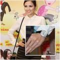 Làng sao - Choáng với đồng hồ 5,1 tỷ của HH Diễm Hương