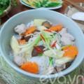 Bếp Eva - Ăn sáng giản dị bằng bún mọc