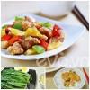 Bếp Eva - Thực đơn: Gà xào dứa, cải mèo luộc