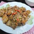 Bếp Eva - Thịt kho ruốc sả ngày thu