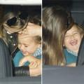 Làng sao - Nhóc Flynn cười toe toét bên mẹ Miranda