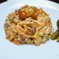 Bếp Eva - Salad gà nấm ngon lạ