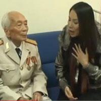 Hồ Quỳnh Hương chia sẻ clip hát tặng Đại Tướng