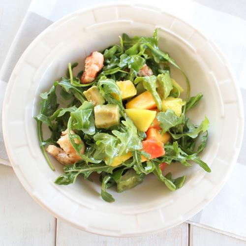 Salad tôm nướng và rau quả - 6