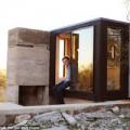 Nhà đẹp - Cực lạ sinh viên xây nhà giữa sa mạc