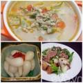 Bếp Eva - Thực đơn: Bò xào, canh hến, kiệu chua