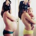 Bà bầu - Cực yêu bộ ảnh 9 tháng mang thai