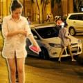 """Làng sao - Bảo Anh diện mốt """"không quần"""" ra phố"""