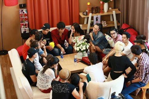 ngo nghieng cuoc song cua dan thi sinh next top - 5