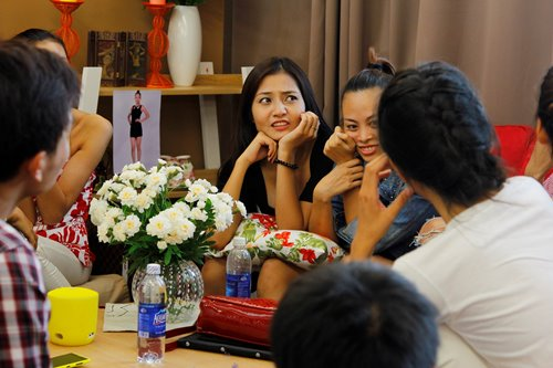 ngo nghieng cuoc song cua dan thi sinh next top - 6