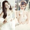 Làng sao - Ngắm vẻ đẹp những hotgirl Việt trong váy cưới