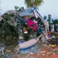 Tin tức - Thái Lan: Lái xe ngủ gật, 16 người chết