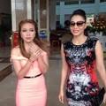 Làng sao - Thu Minh đeo kính râm ngồi ghế nóng Idol