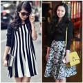 Thời trang - Những mẫu váy lãng mạn trên phố Thu