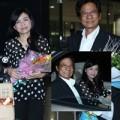 Làng sao - Chế Linh cùng vợ bất ngờ về nước biểu diễn