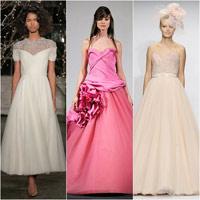 6 mẫu váy cưới hứa hẹn bùng nổ năm 2014