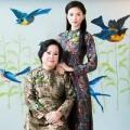 Làng sao - Ngô Thanh Vân lần đầu khoe ảnh chụp cùng mẹ