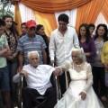 Tin tức - Lễ cưới đặc biệt của cụ ông 103 tuổi và cụ bà 99 tuổi