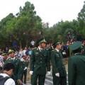 Tiểu đội đặc biệt tại khu mộ Tướng Giáp
