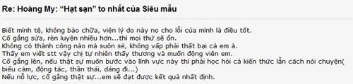 showbiz viet may ai dam nhan loi nhu hoang my? - 3