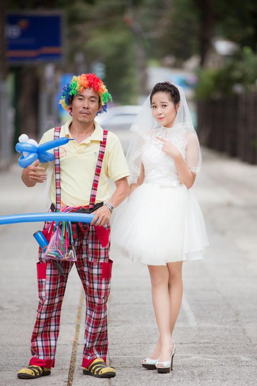 """ban sao angela phuong trinh"" lam co dau tuoi 15 - 8"