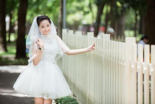 """ban sao angela phuong trinh"" lam co dau tuoi 15 - 1"