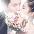 Làng sao - Rò rỉ ảnh cưới đầu tiên của vợ chồng Đăng Khôi