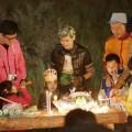 Làng sao - Con trai Lâm Chí Dĩnh đón sinh nhật tại phim trường
