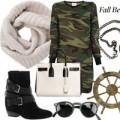 Thời trang - Phối đồ ấm và sành điệu với khăn len tròn