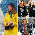 Diện khăn thu đông 'chuẩn' như các fashionista