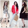 Thời trang - Bắt nhịp 5 mốt blazer nổi bật thu đông 2013