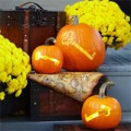 Nhà đẹp - Bí ngô Halloween 'ma mị' không kinh dị
