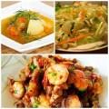 Bếp Eva - Thực đơn: Tôm rang thịt, canh khoai tây