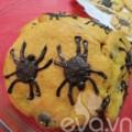 Bếp Eva - Halloween làm bánh quy nhện ăn nào!