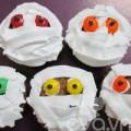 """Bếp Eva - Chào Halloween bằng cupcake """"xác ướp"""""""